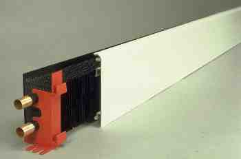 Model E2I withThermo-skirting, for the Plasterboard Heating System